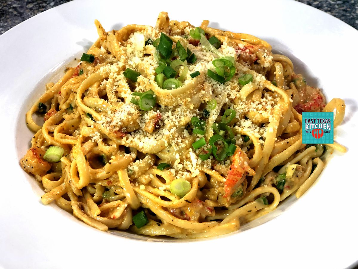 Crawfish Fettuccine by Copeland's of New Orleans in Longview