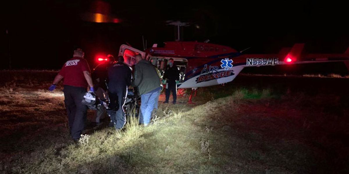 Trinity County deputy seriously injured in 1-vehicle crash en route to wreck