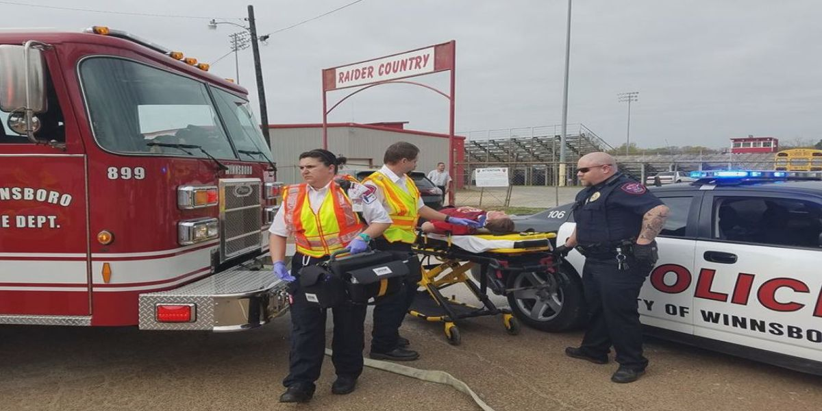 Paramedics, law enforcement participate in joint disaster drills