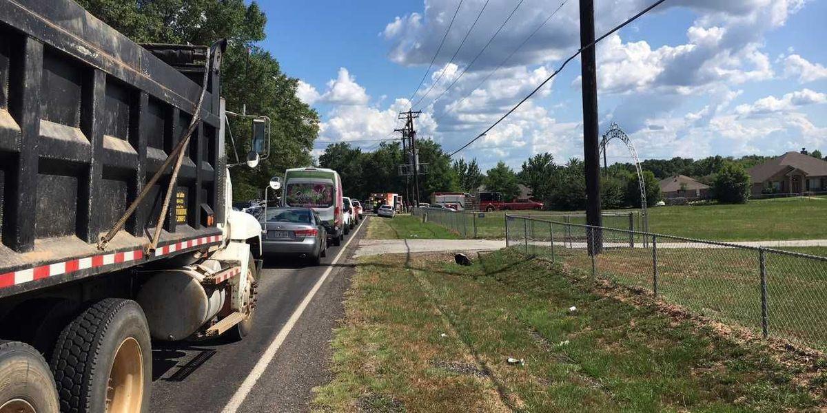 Traffic shut down at Hwy 69 in Flint near CR 346, being redirected, causing major traffic jams