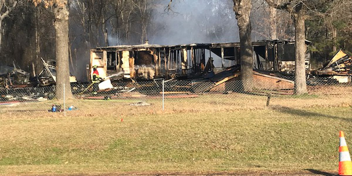 Homeowner displaced after mobile home, camper destroyed by fire in Rusk County