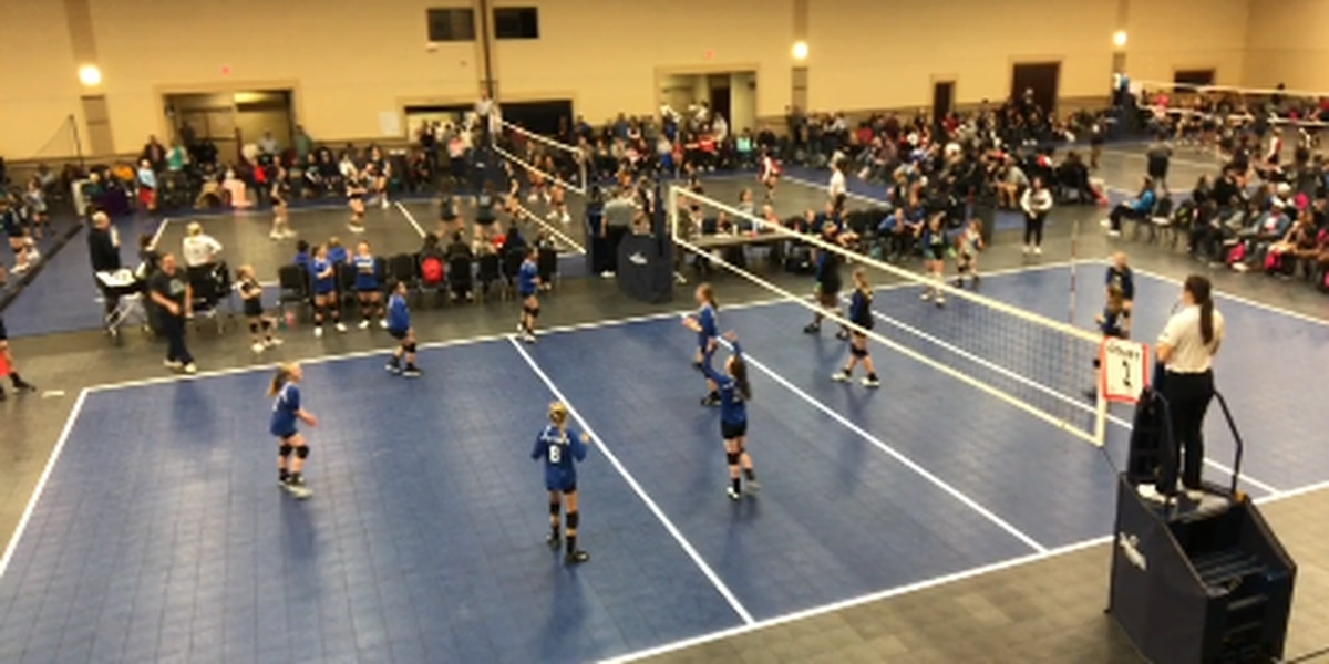 Volleyball tournament brings hundreds to Longview