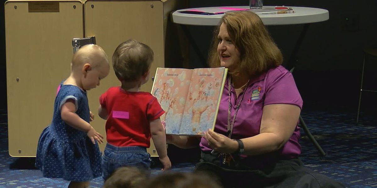Infant Storytime at the Tyler Public Library