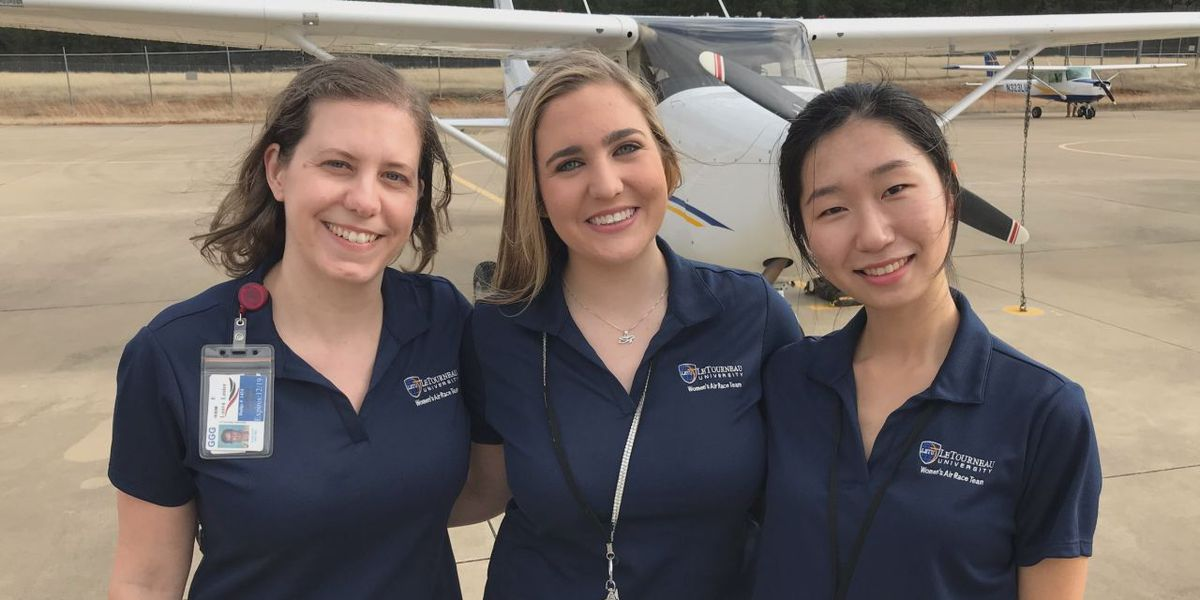 LETU flight team to race 2,400 miles across U.S.