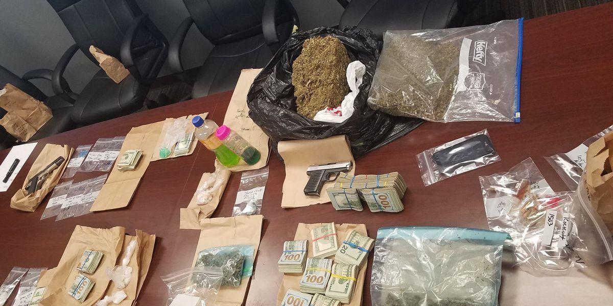 Drug bust leads officers to plethora of drugs