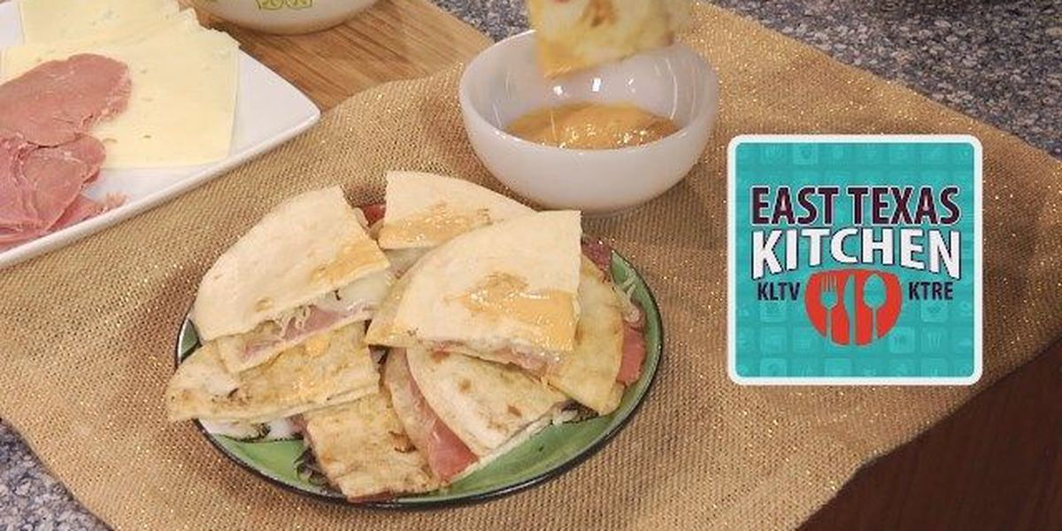St. Patrick's Day corned beef quesadillas by Mama Steph