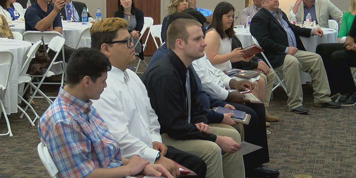 Tyler ISD students graduate from 'Project SEARCH' intern program at CHRISTUS