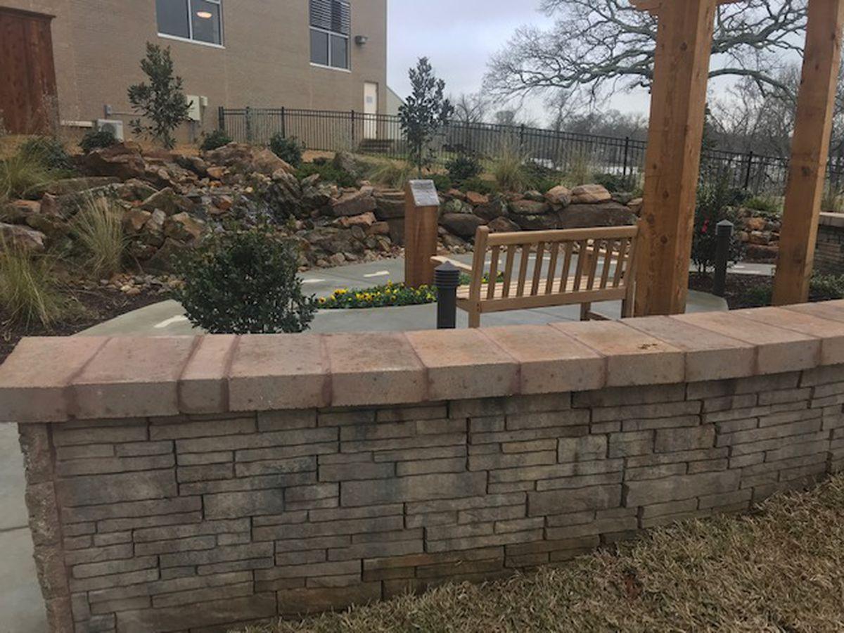 Marshall hospital unveils new memorial prayer garden