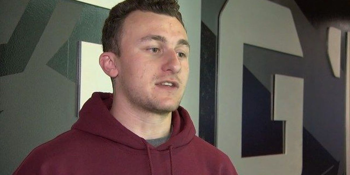 Tyler native Johnny Manziel is back on the football field
