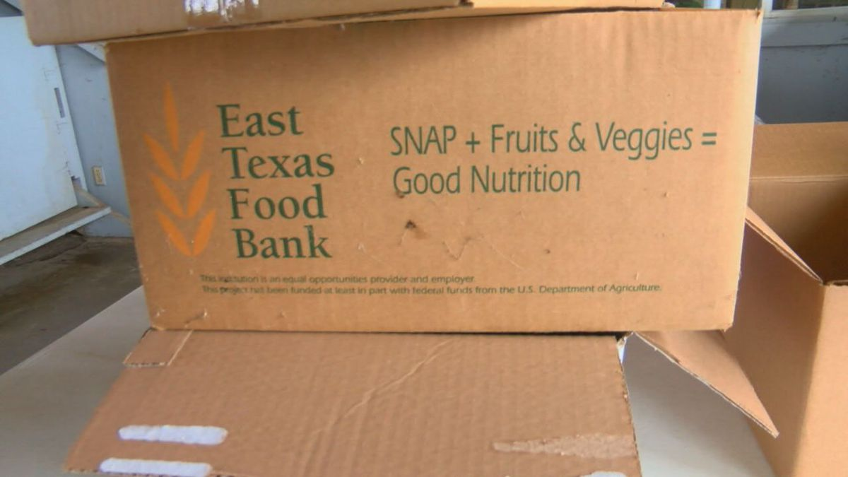 East Texas Food Bank to distribute emergency food boxes at East Texas State Fairgrounds