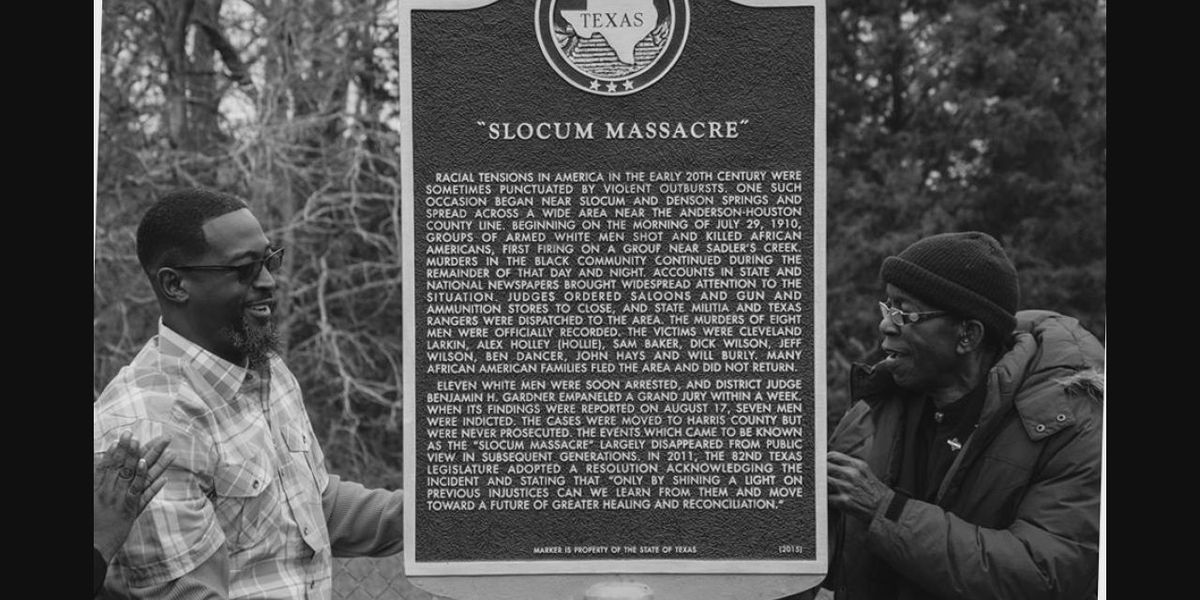 Mark in Texas History: Woman makes it her mission to memorialize Slocum massacre victims