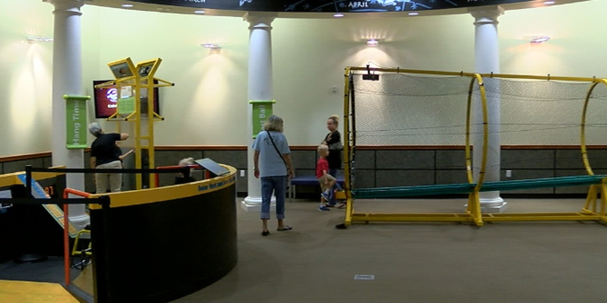 Science and athleticism combine in new hands-on sports exhibit at Tyler Junior College