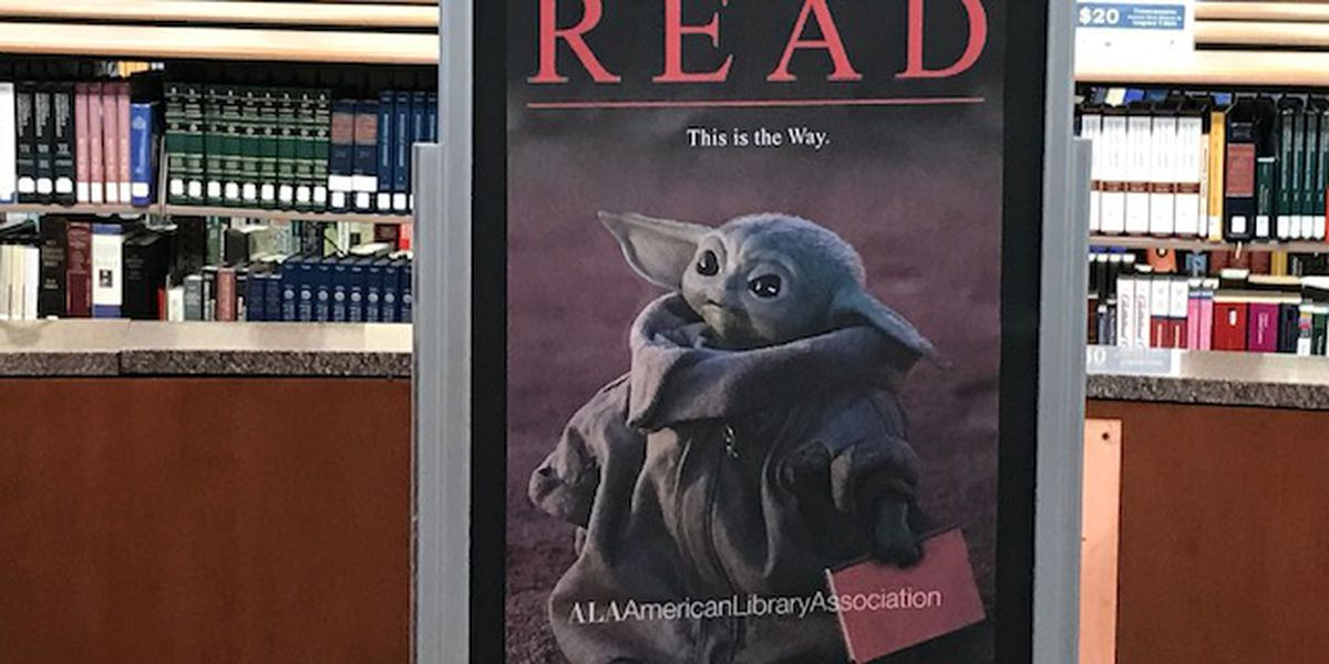 Longview Public Library releases limited edition Baby Yoda library cards