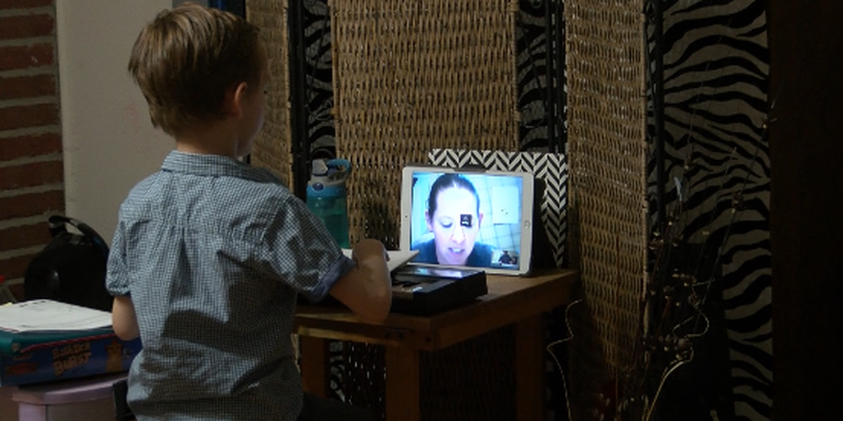 Lubbock boy switching to virtual piano lessons to keep his skills sharp