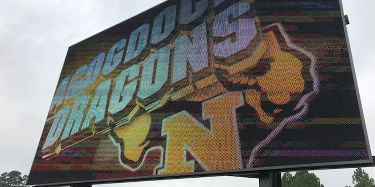 New Nacogdoches video board to be ready for Friday night football