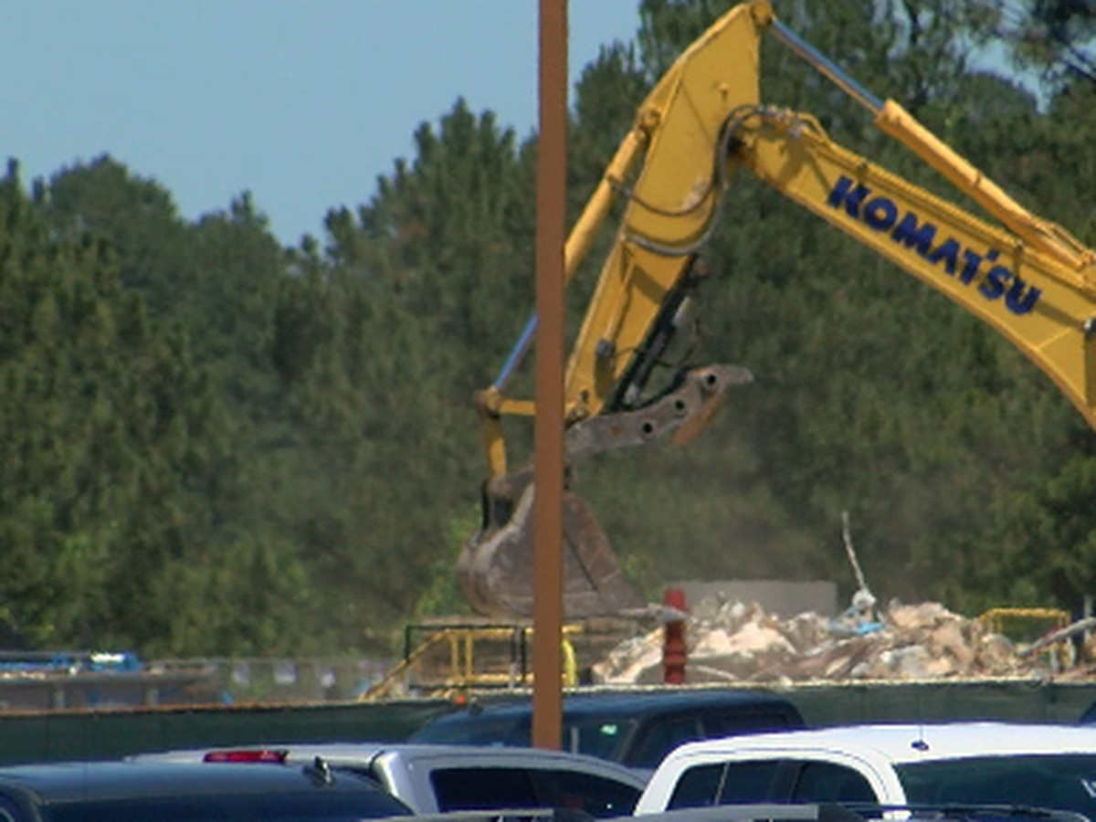 Demolition of Tyler TRANE facility damaged by winter storm begins