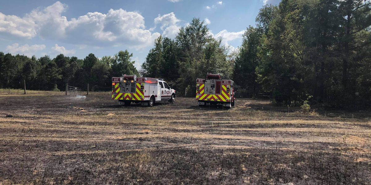 Several departments respond to fire off County Road 218D in Rusk County