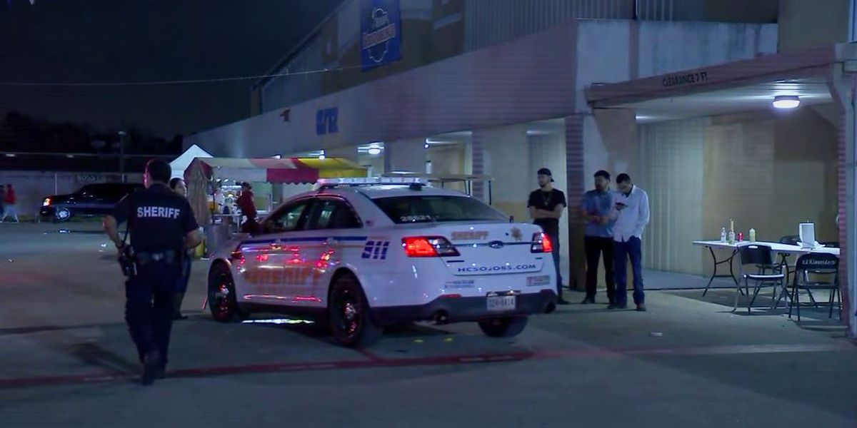 1 shot, 6 others hit by ricochet when gun goes off at Houston flea market
