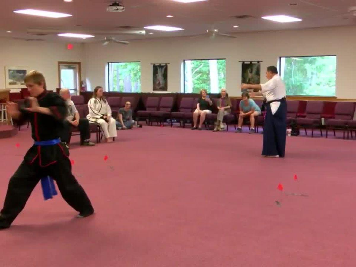 Schools converge on all martial arts tournament