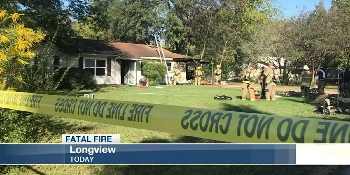 Longview Fire Department releases name of man who died in Aars St. fire