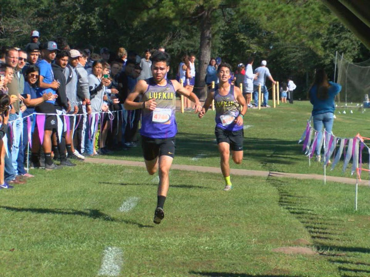 Lufkin wins Cross Country district race on home course
