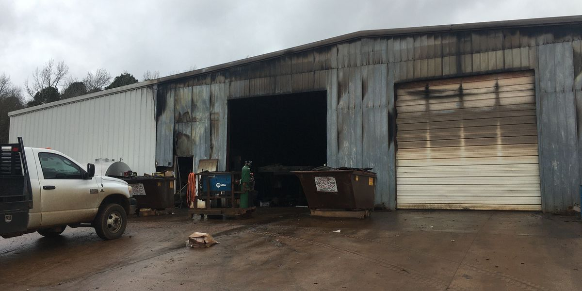 Truck fire damages Cherokee County commercial building, misses propane tanks inside