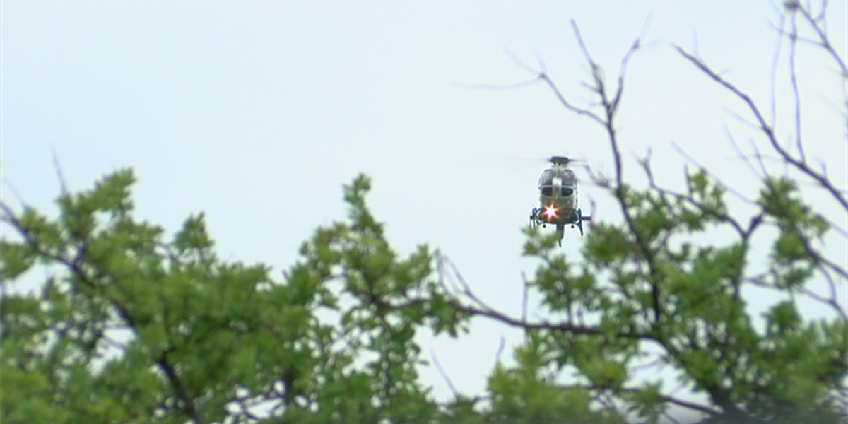 Tragedy averted after drone flies through helicopter's path