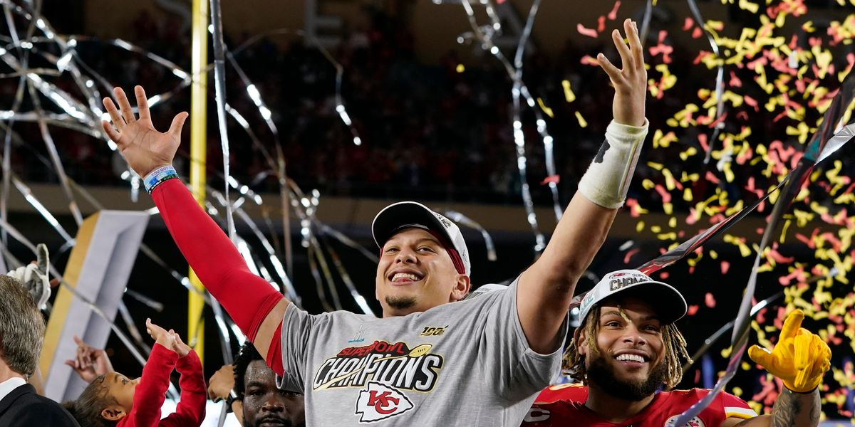 Mahomes after Super Bowl celebration: 'TTU prepared me for these moments'