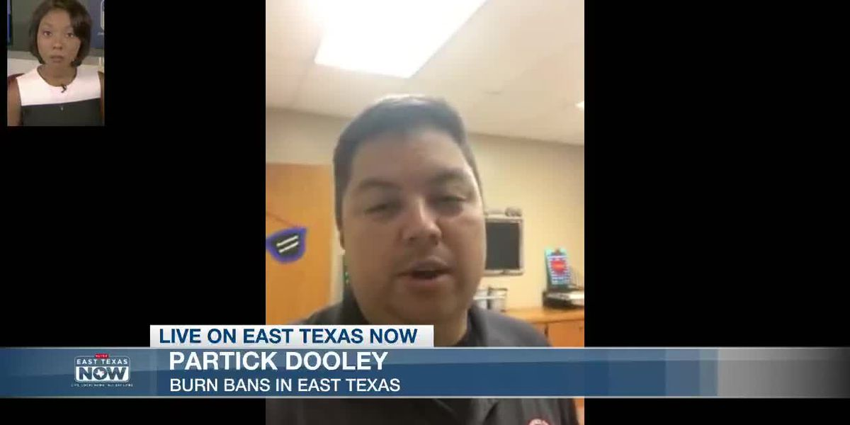 LIVE ON EAST TEXAS NOW: Official with Rusk County OEM discusses burn ban in county - VOD