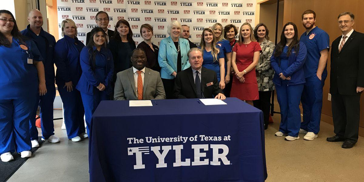 Trinity Valley Community College, UT Tyler announce partnership to address nursing shortage