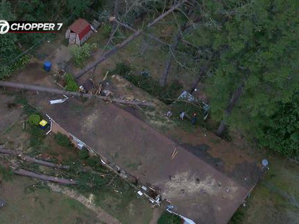 Kilgore resident picks up the pieces at severely damaged family home