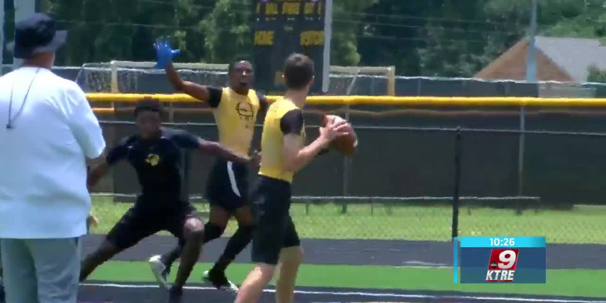 Football teams using 7on7 to build momentum to regular season