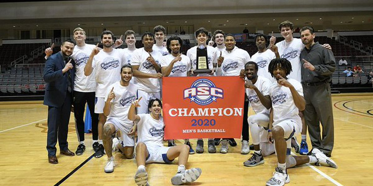 LETU men's basketball team headed to Dallas for first round of NCAA DIII tournament