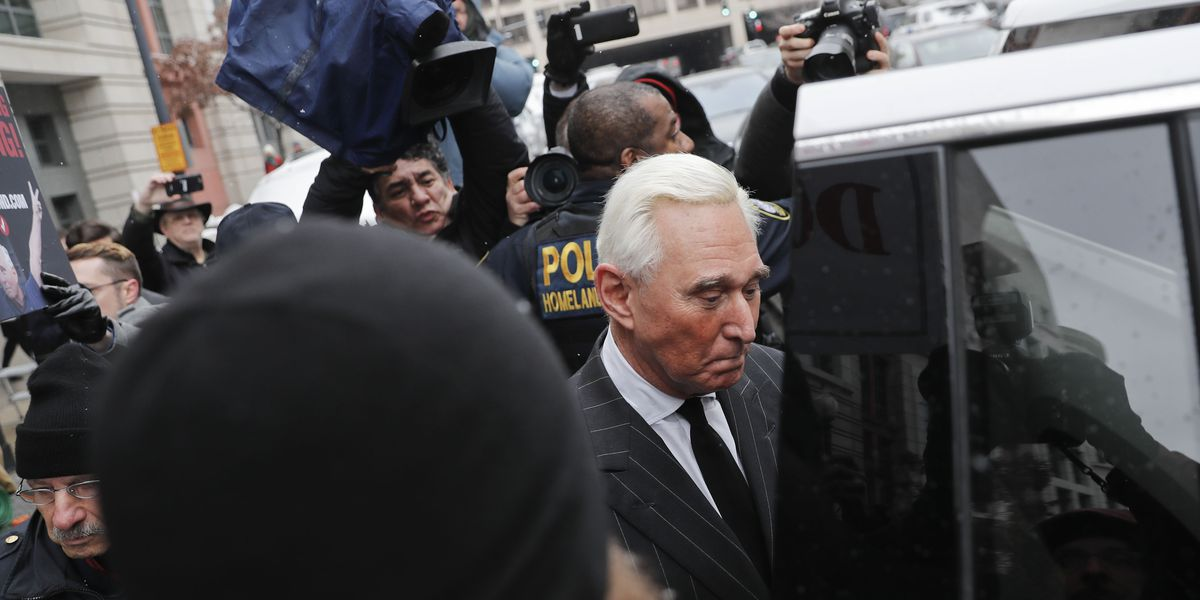 Roger Stone apologizes for Instagram post of judge in his case pictured with crosshairs