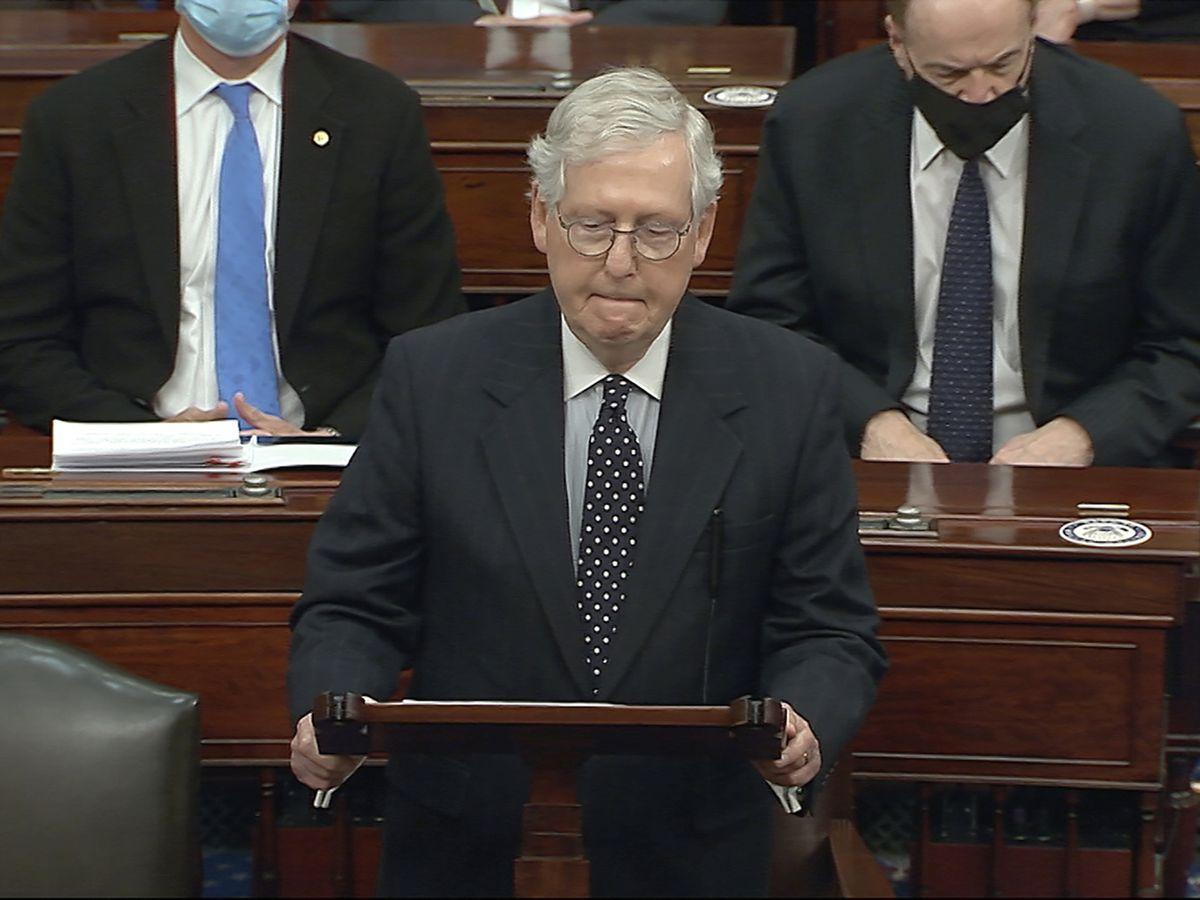 McConnell seeks to push impeachment trial to February