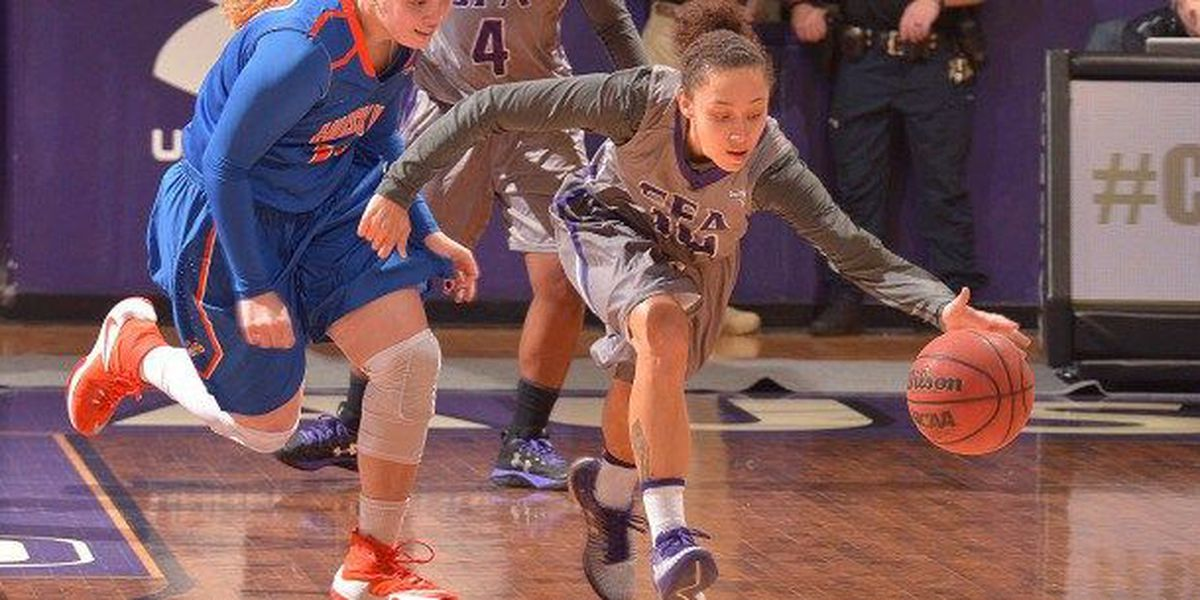 SFA Womens Basketball opens conference play with blowout over Houston Baptist