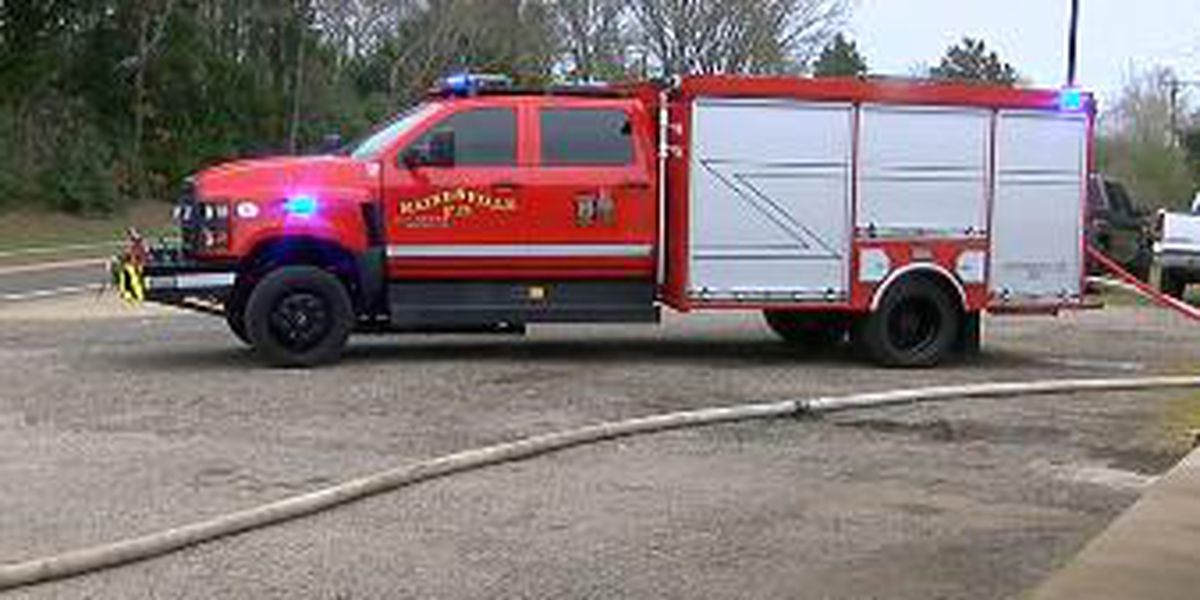 Hainesville VFD showcases new fire truck designed to save buildings from wildfires