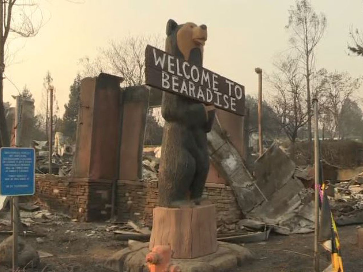 A few hardy wildfire survivors hunker down for long haul