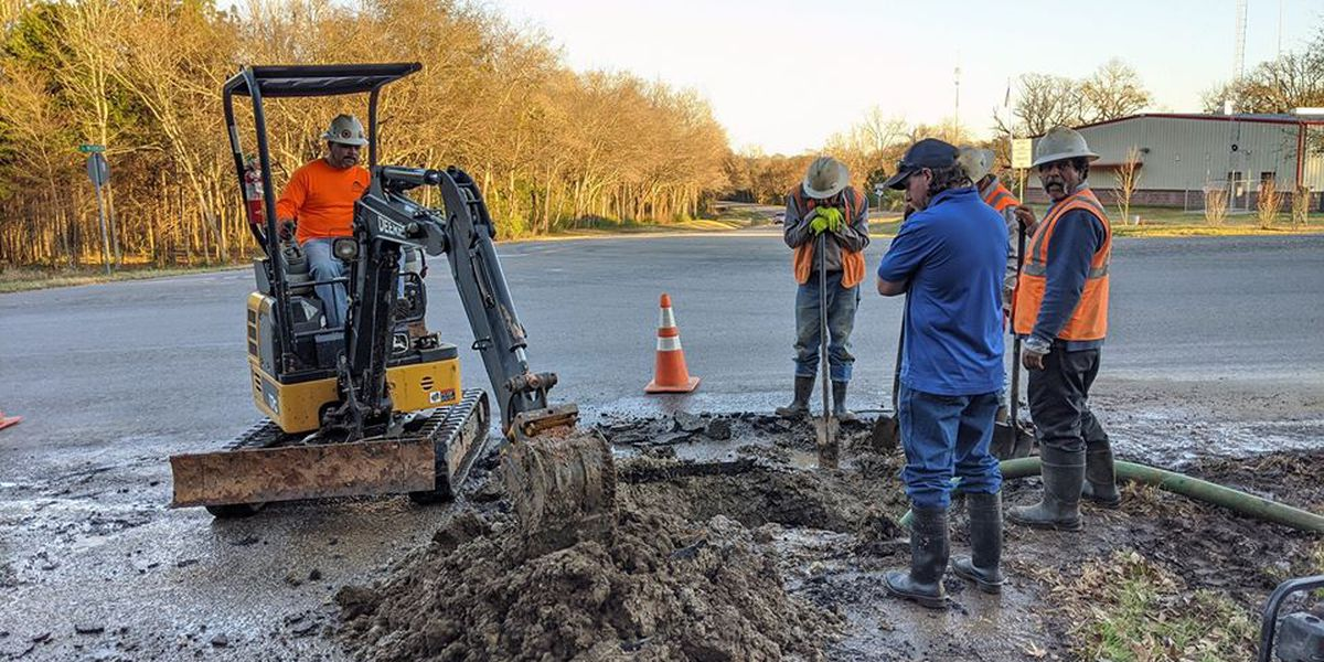 Boil water notice issued for parts of Troup following water main break