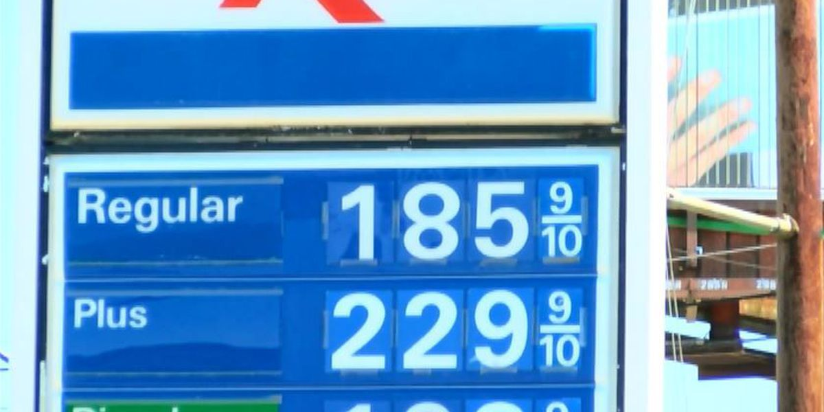 Gas Prices In Texas >> Gas Prices Rising In East Texas