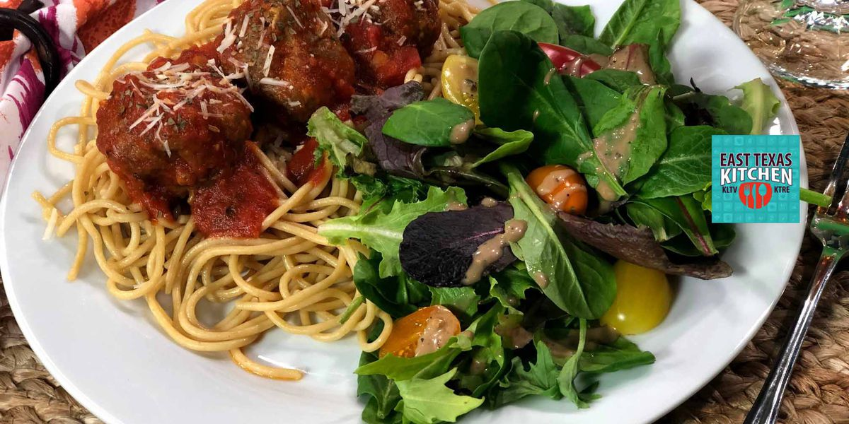 Classic Spaghetti and Meatballs by The Texas Beef Council