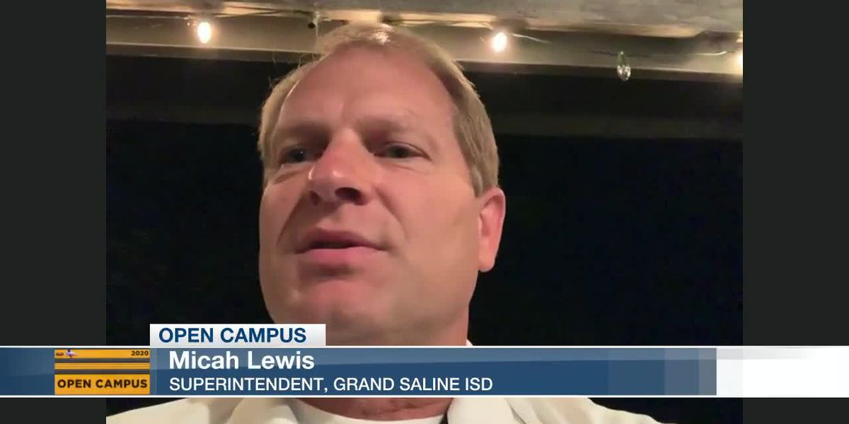 Grand Saline ISD Supt. Micah Lewis says he's looking for help for teachers