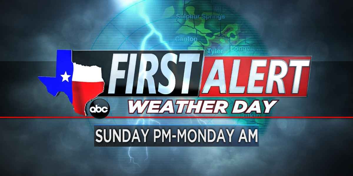 First Alert Weather Day issued for Sunday night through Monday morning