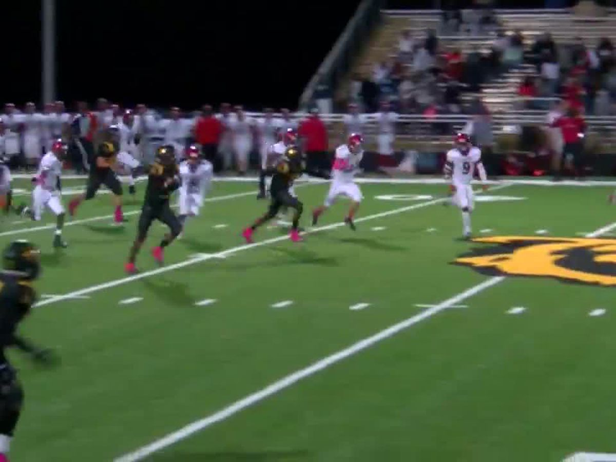 WATCH: Timpson's Trey Davis turns nothing into 80-yard score