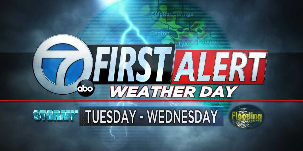 First Alert Weather days for Tuesday and Wednesday, strong storms expected