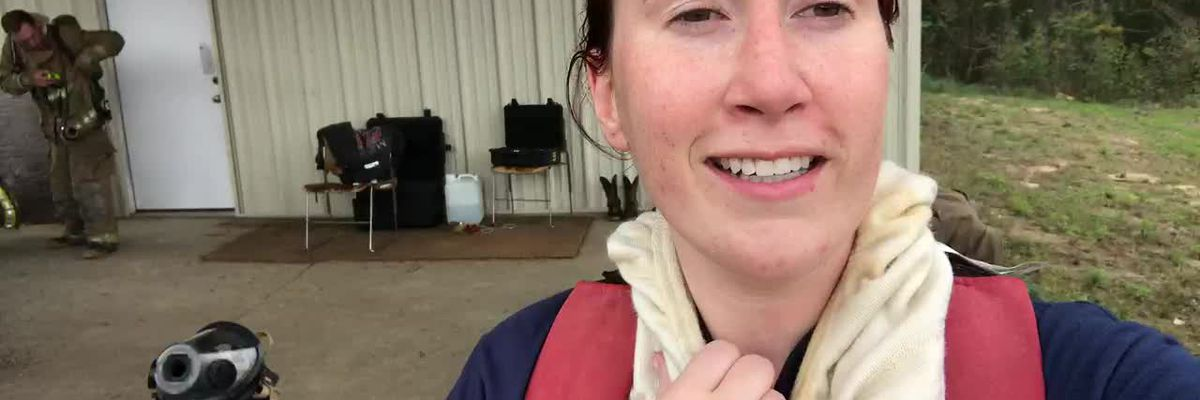 WEBXTRA: Behind the scenes of firefighter training