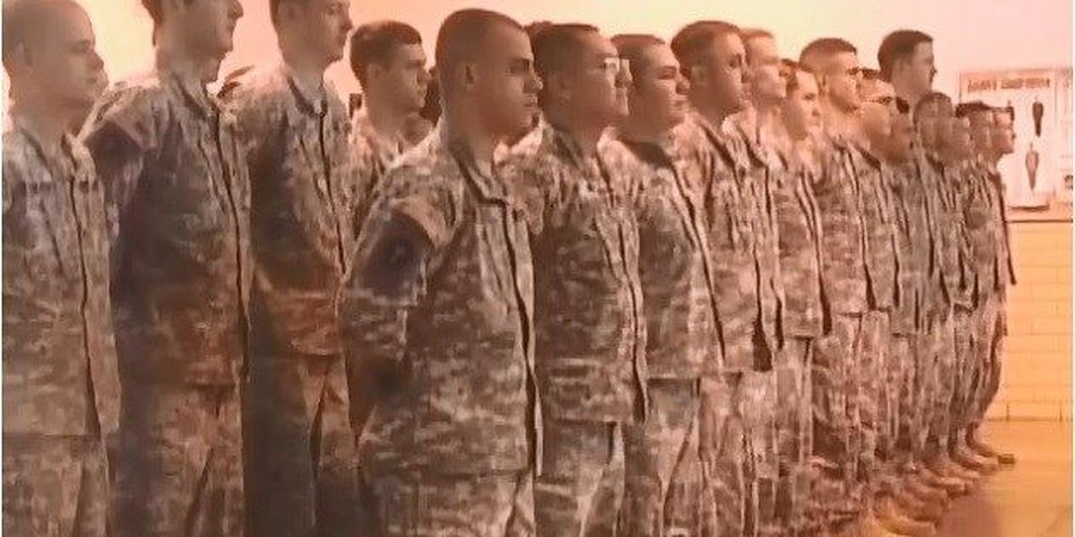East Texas Guard units waiting for deployment orders from Washington