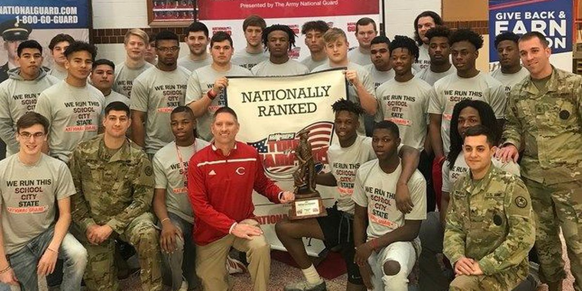 Carthage football program receives national recognition