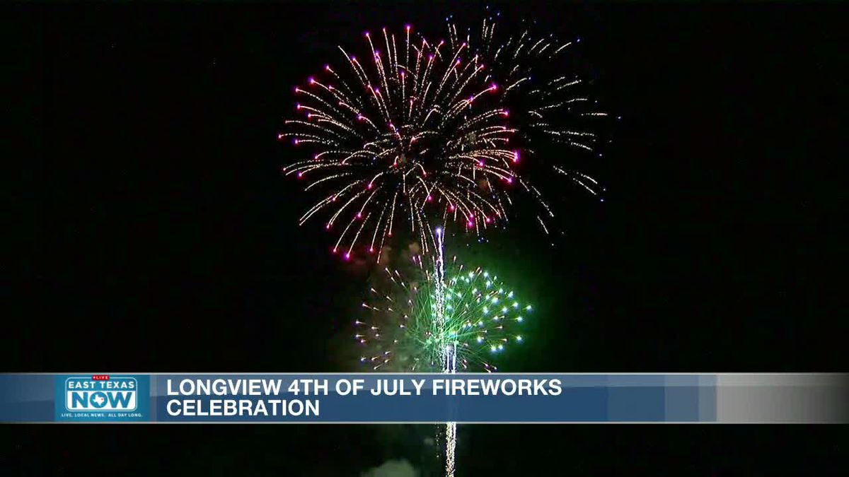 WATCH: Longview celebrates Fourth of July with Fireworks and Freedom event