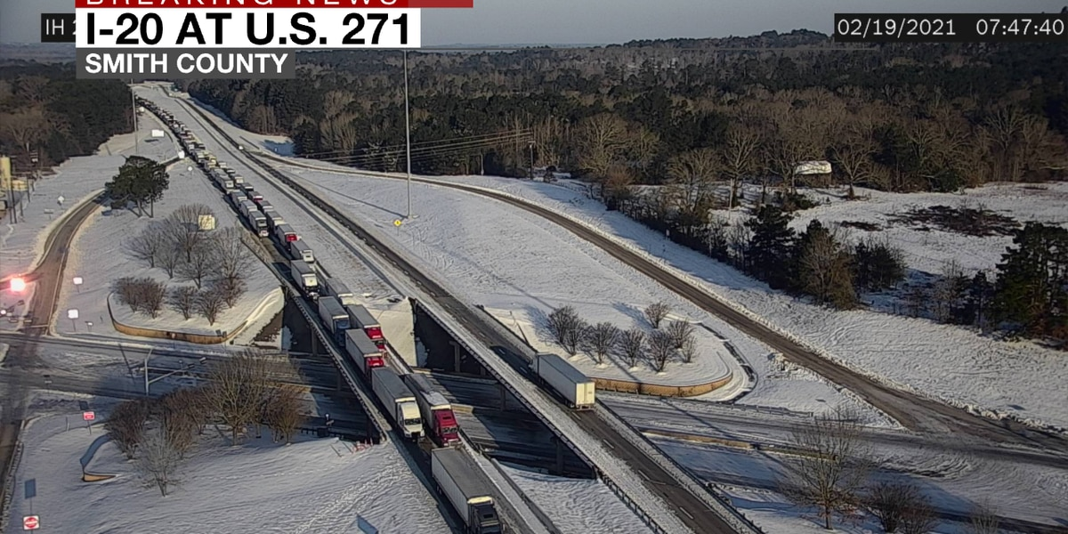 Interstate 20 reopened after miles-long backup left drivers stranded for hours